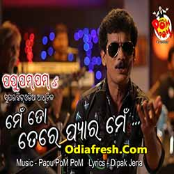Me to tere pyar mein (papu pam pam) odia album Song download